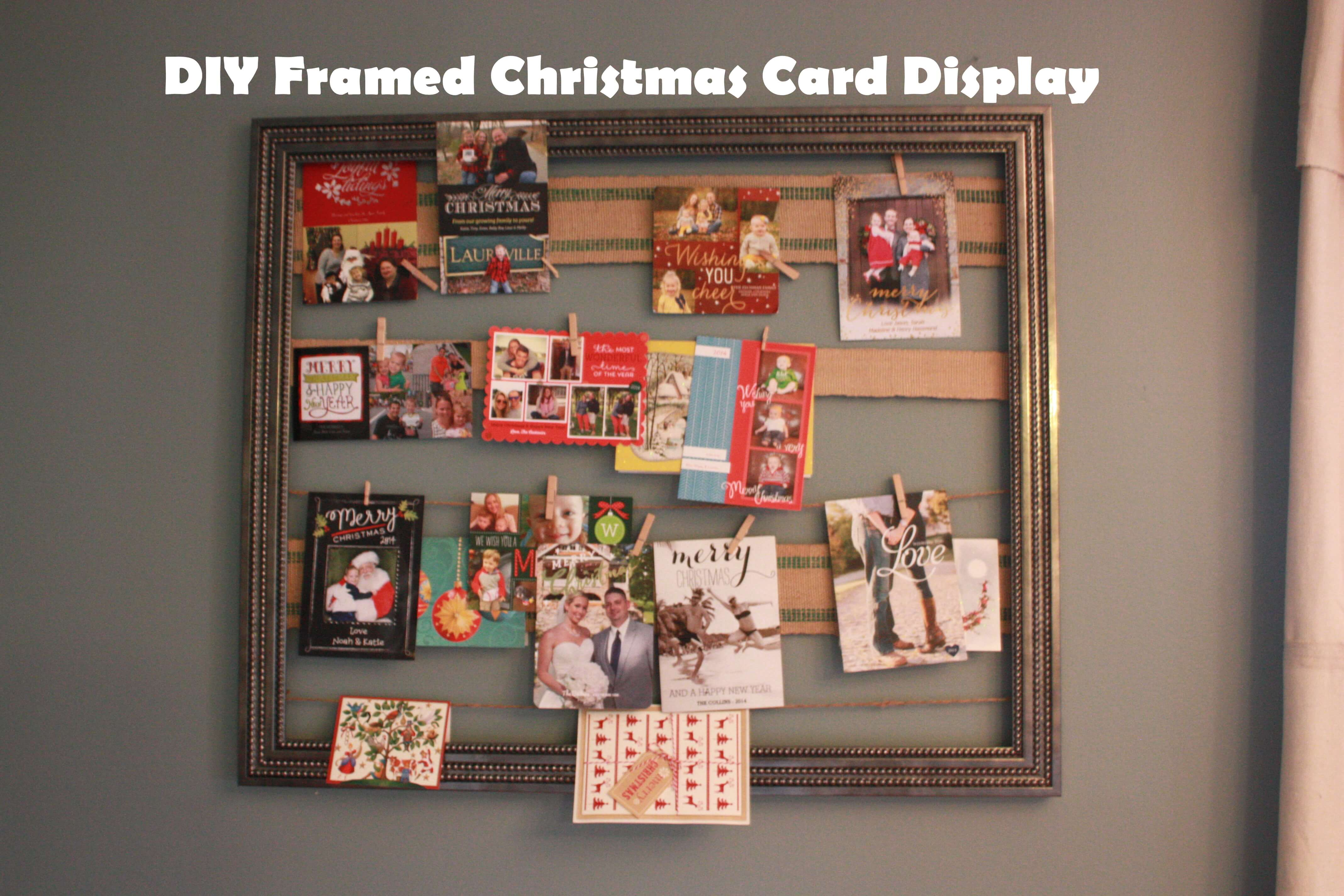 Frame those cards for added benefits