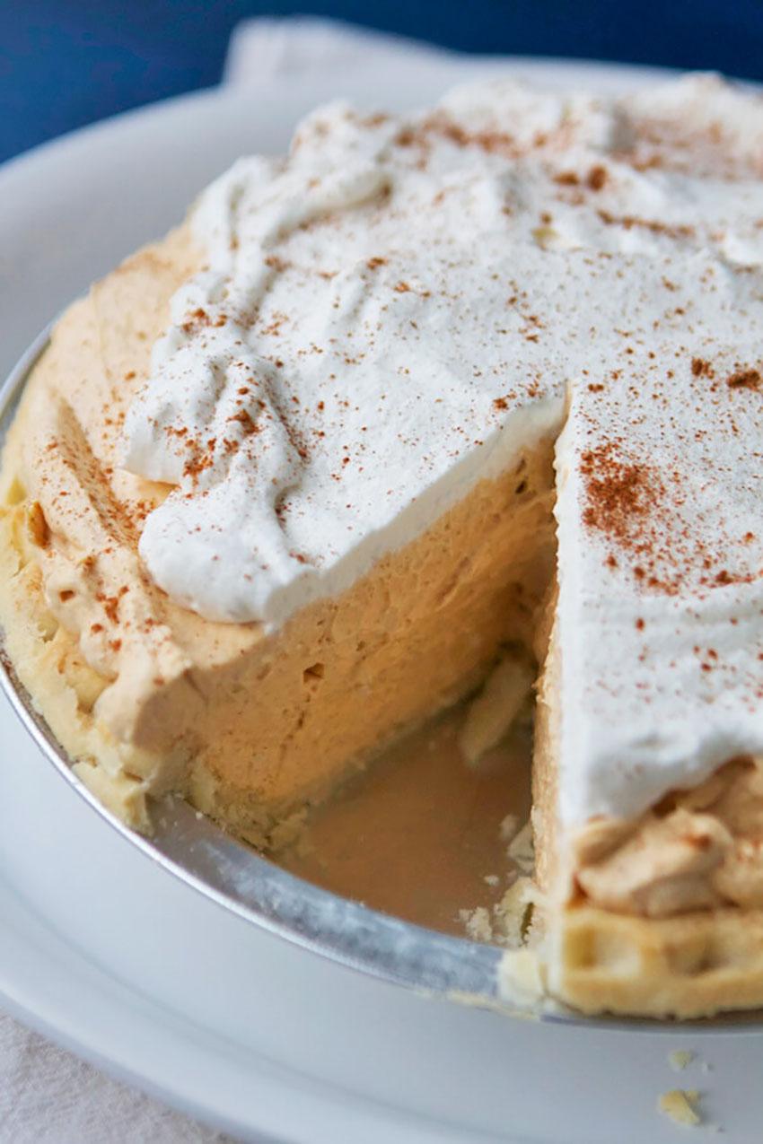Pumpkin Cream Pie - last-minute Thanksgiving Recipe