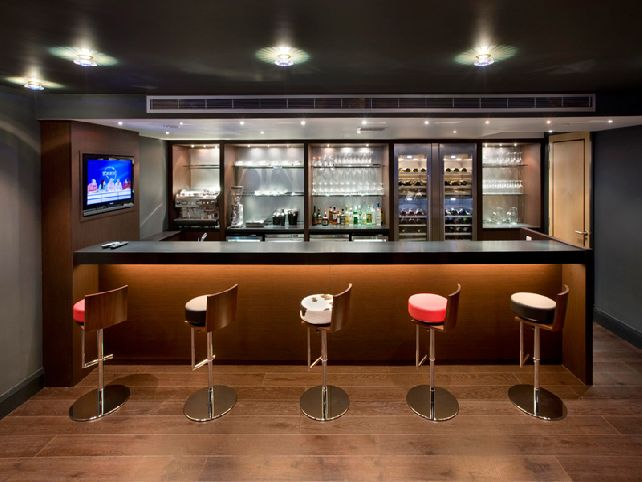 for a simple streamlined modern bar this is a great source of