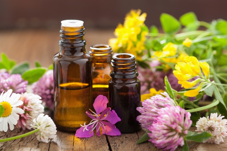 Using essential oils in your bath water will help you relax and feel like you're at a spa.
