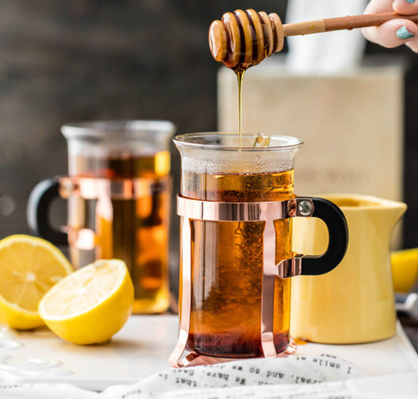 The Hot Toddy is a classic cool weather drink!