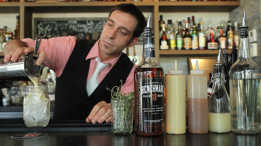 The Pork Chop Cocktail is perfect for fall.