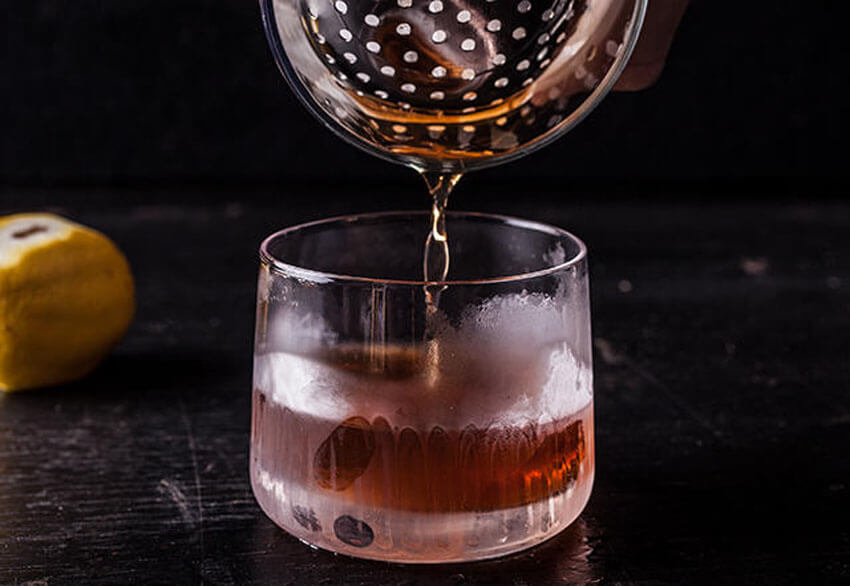 The Vieux Carre is both comforting and crisp, making it perfect for fall.