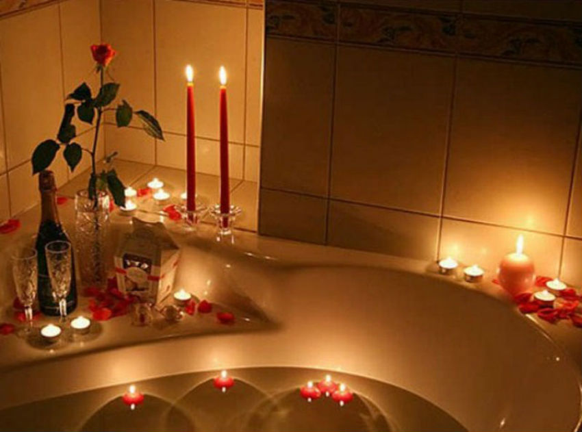 How to Display Candles to Spark Romance