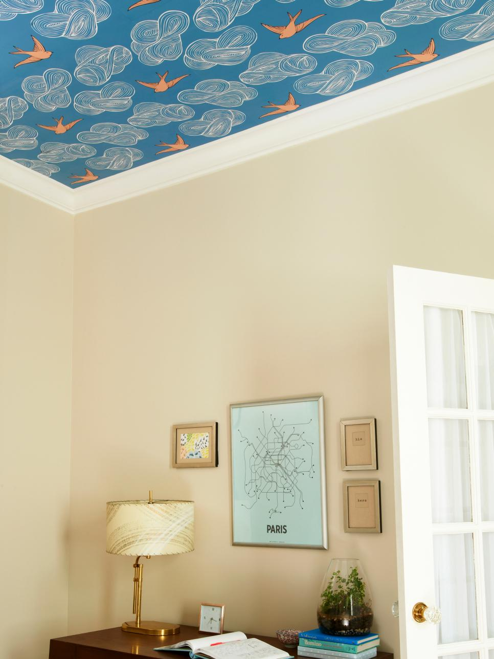 http://www.hgtv.com/remodel/interior-remodel/how-to-wallpaper-a-ceiling-pictures