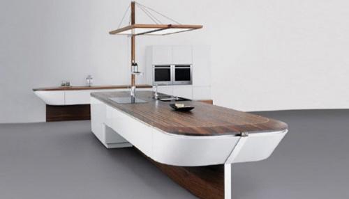 boat-shaped-kitchen-island