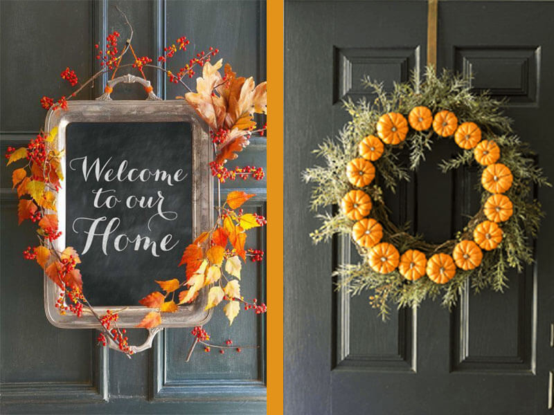 6 DIY Fall Wreaths to Welcome Your Guests