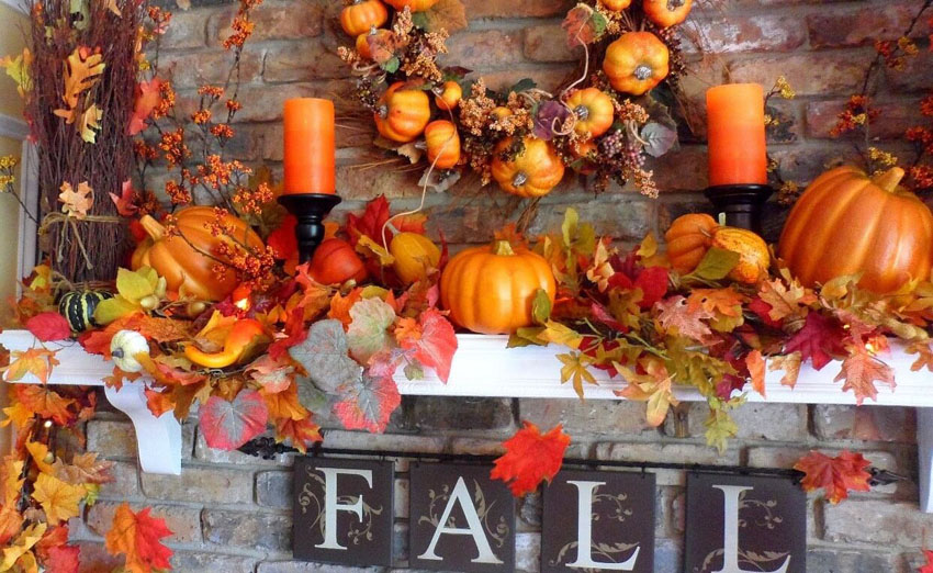 4 Ways to Prepare Your Mantel for Fall