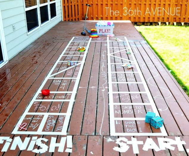 Your deck can become a game. Image Source: Fave Thing