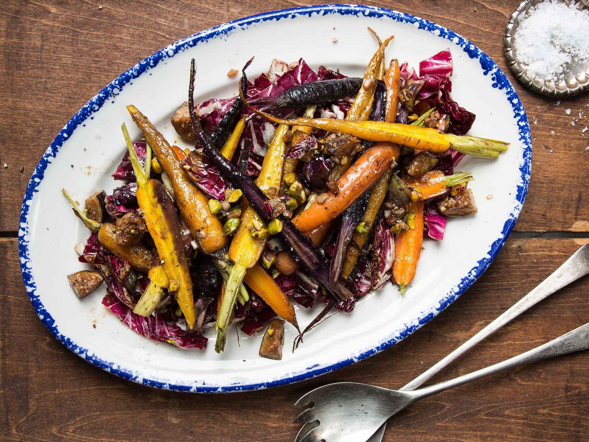 spring vegetables saute