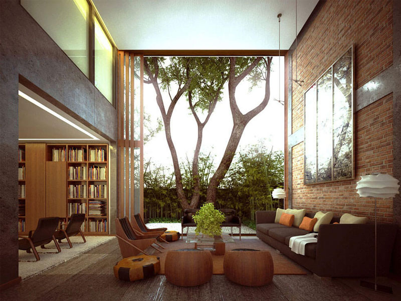 3 Stunning Displays of Interior Stone Wall Design