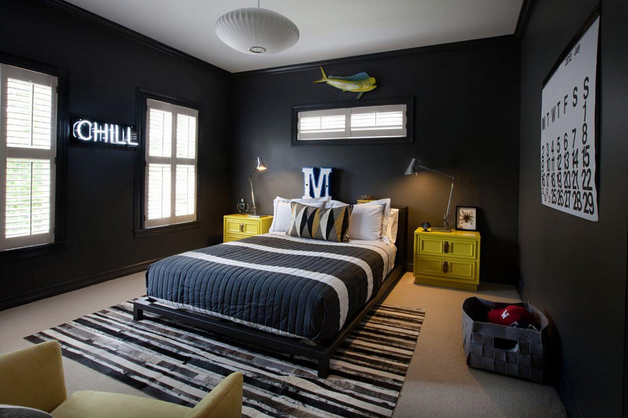 Coolest teenage boy room designs for a home