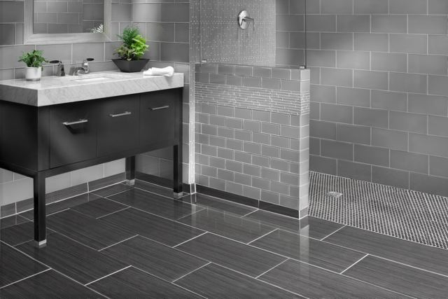 The must have tile style guide this year for Bathroom floors 2016