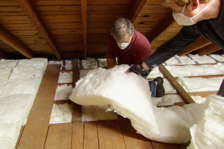 Insulating your home's attic can save you money on your energy bills.