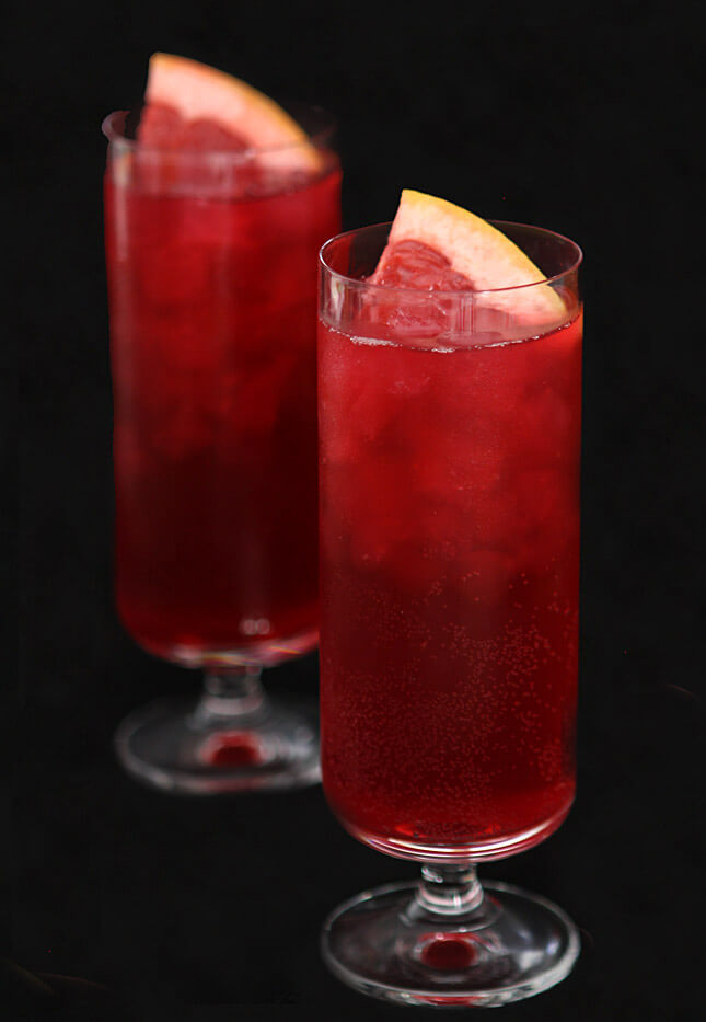 Blood orange soda for all you vampires out there