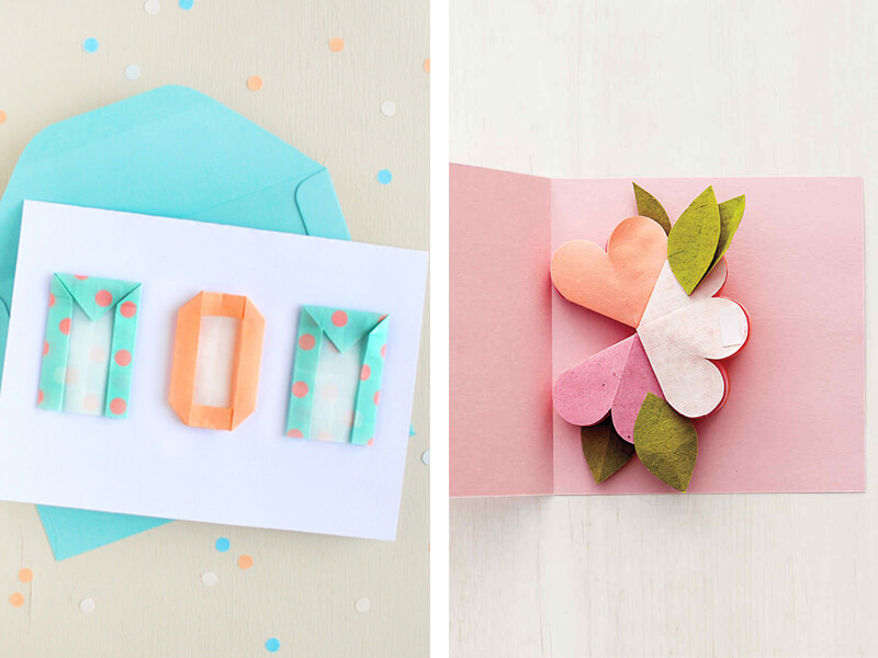 6 Handmade and Heartfelt Mother's Day Cards