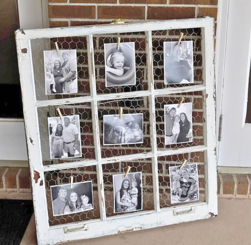 Antique window craft