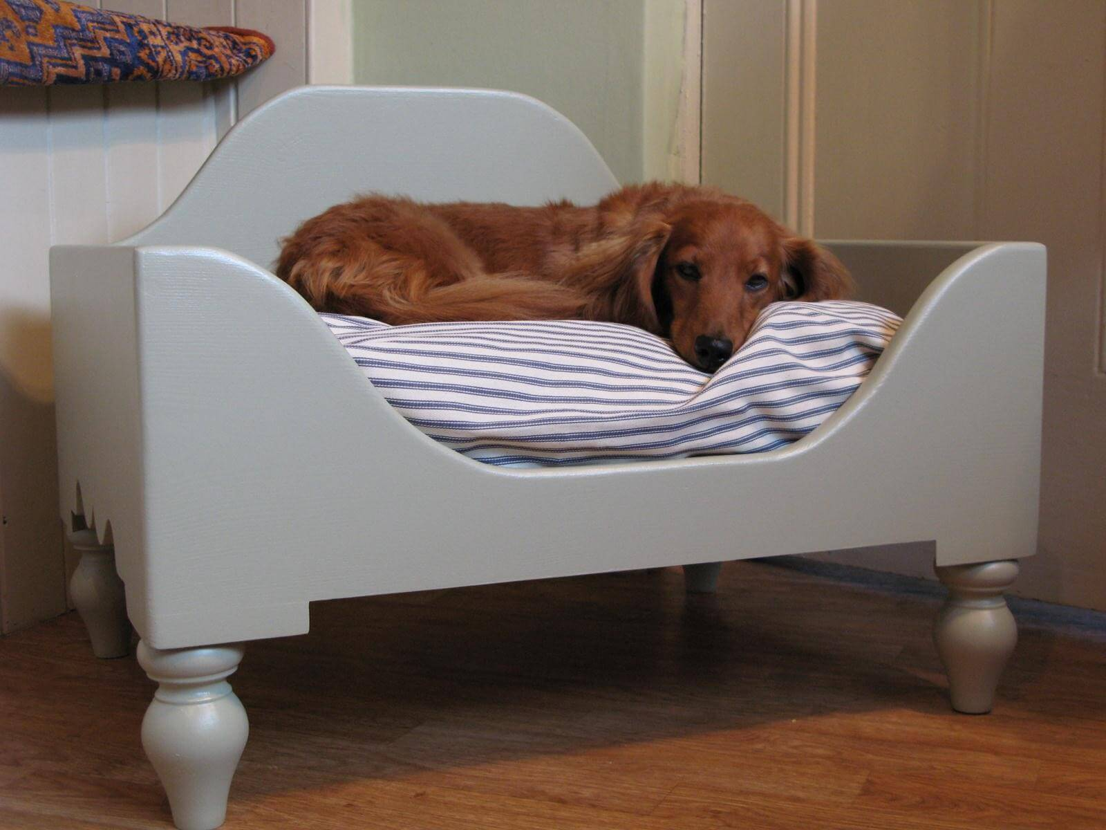 Create a comfy naptime area for your four legged friend