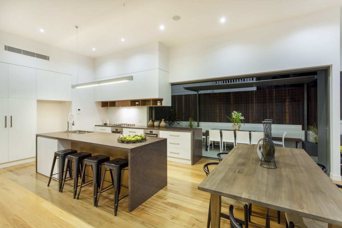 Different types of kitchen islands Different types of kitchen designs