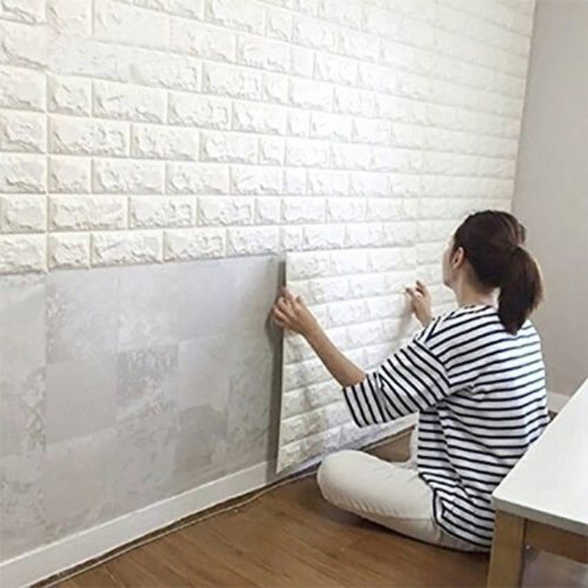 Tiles can also create texture on your home!