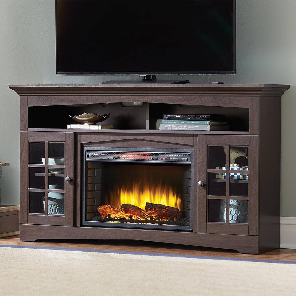 AN entire home entertainment system based around a fire