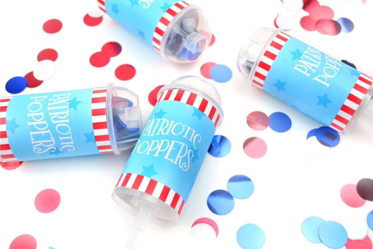 Make your own party poppers