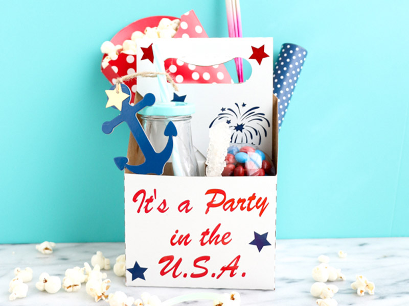 Here are some examples of patriotic DIY crafts