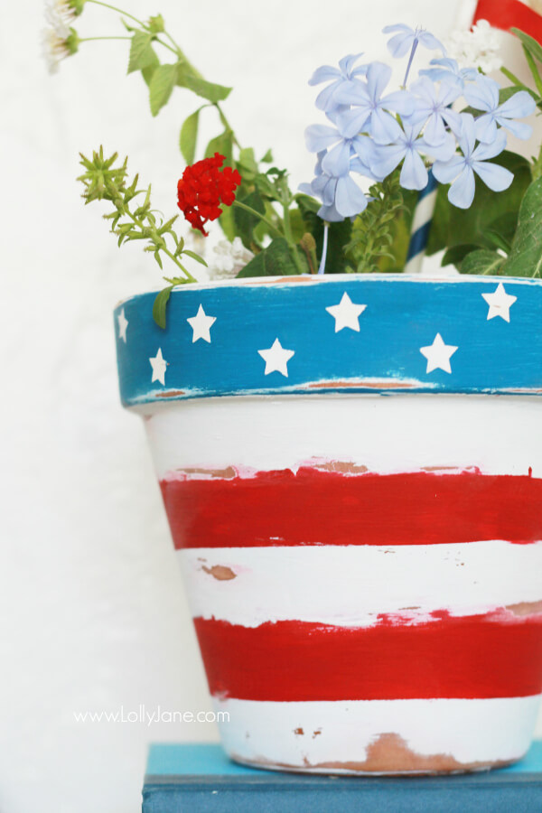 Potted plants can always use a paint job
