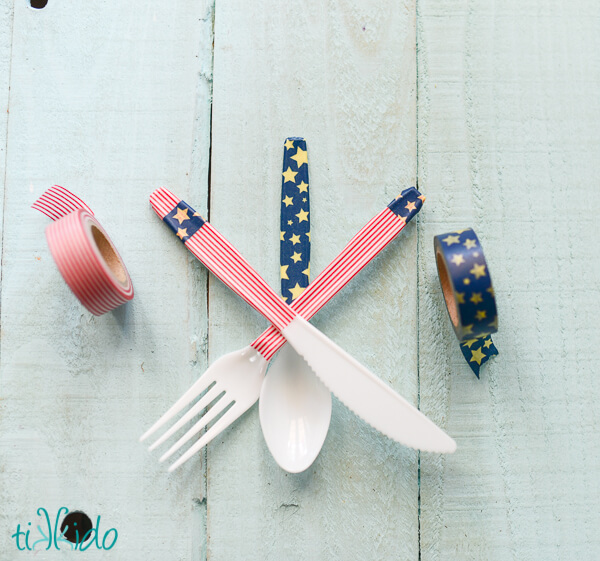 Washi tape isn't just for background projects