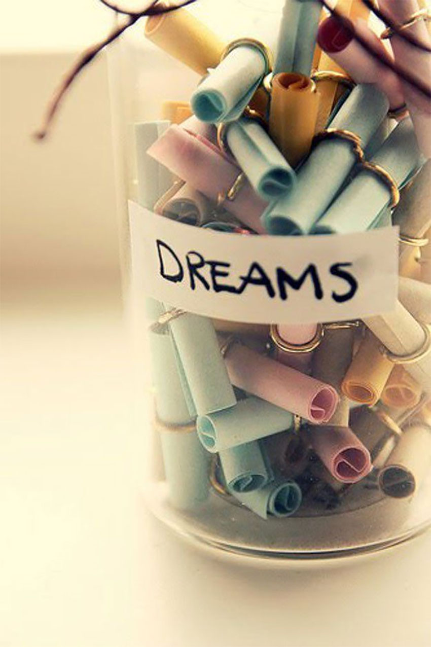 A Jar of Dreams is the perfect motivational tool for any day!