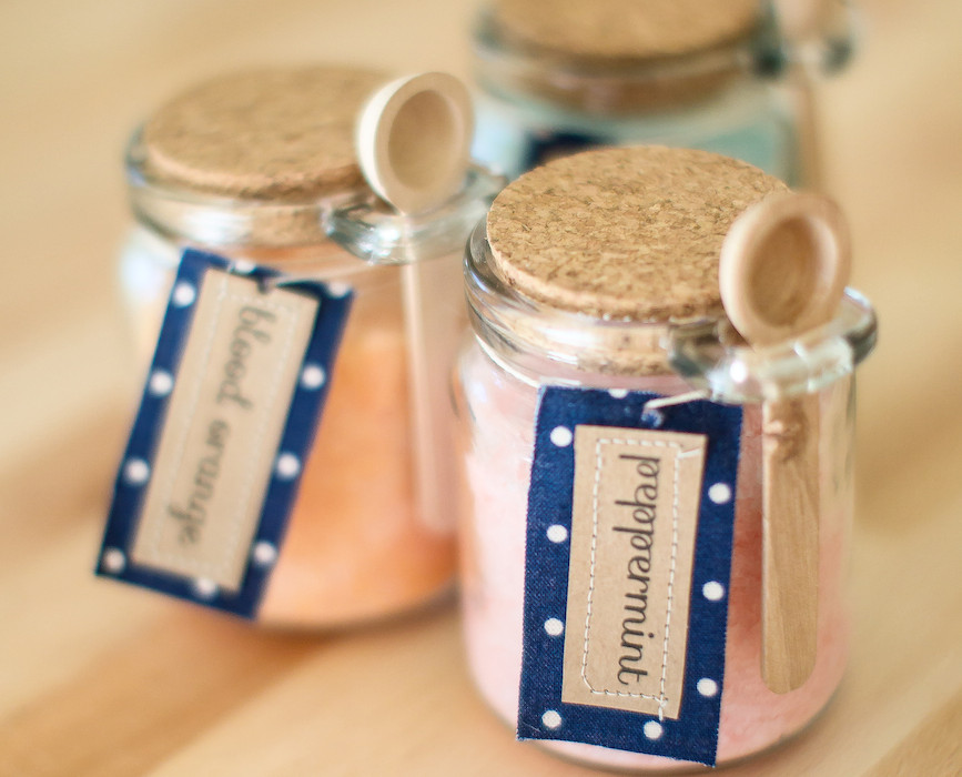 Bath salts add that special something to your bath time to help you relax.