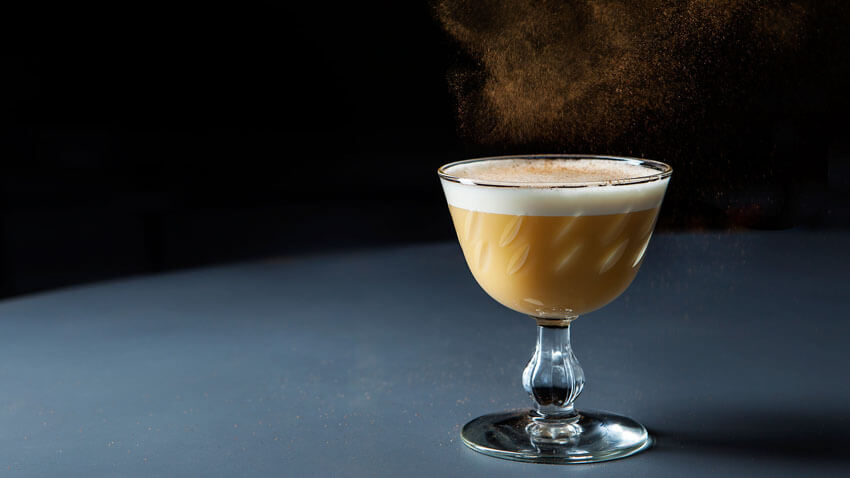 The Rum Flip is a delicious alternative to eggnog.