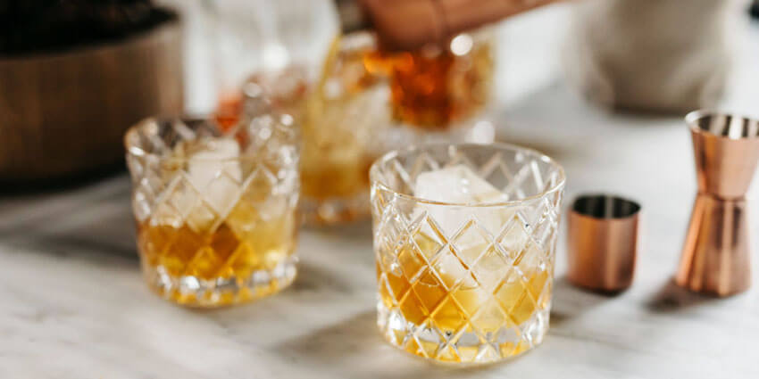 The Rusty Nail is perfect for sipping in front of a roaring fire.