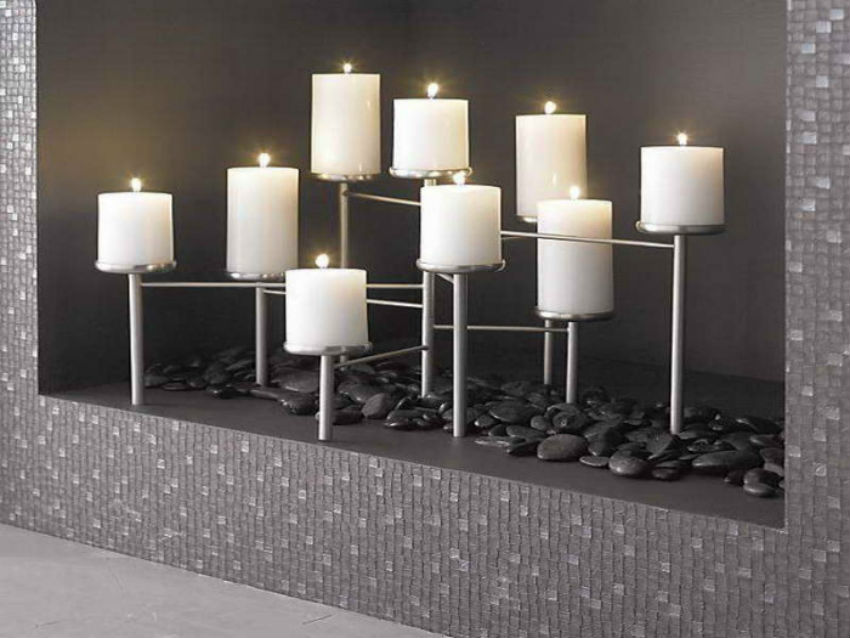 This is modern geometric candle display holder will help relaxing the Scandinavian way