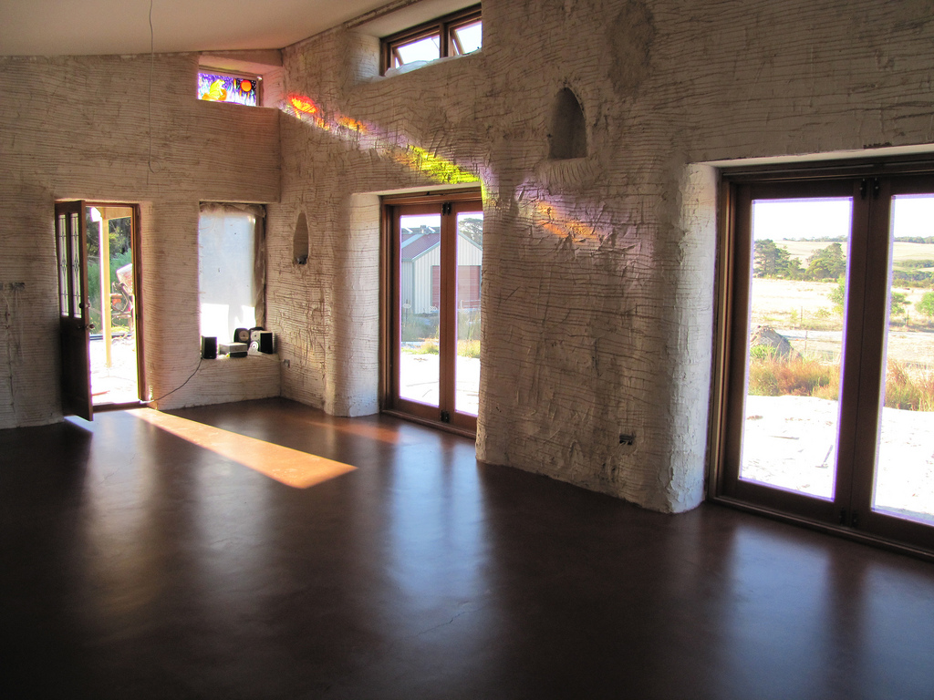 The benefits of concrete flooring.