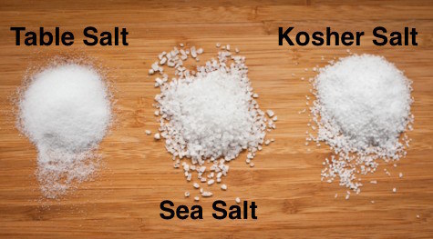 use Kosher salt in cooking