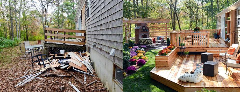 Top 10 Before and After Backyard Transformations
