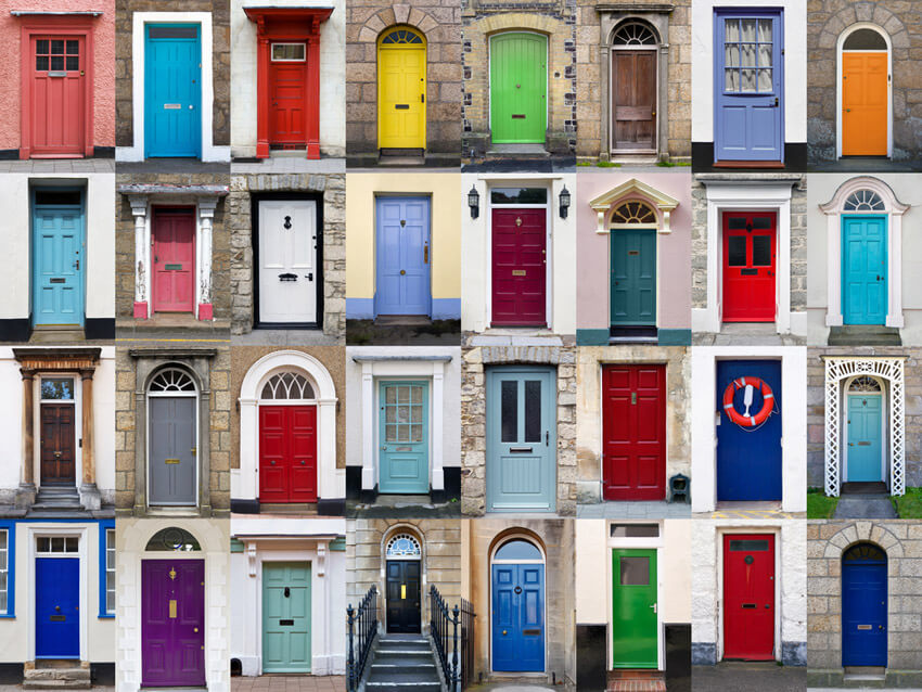 You can paint your front door any color you want!