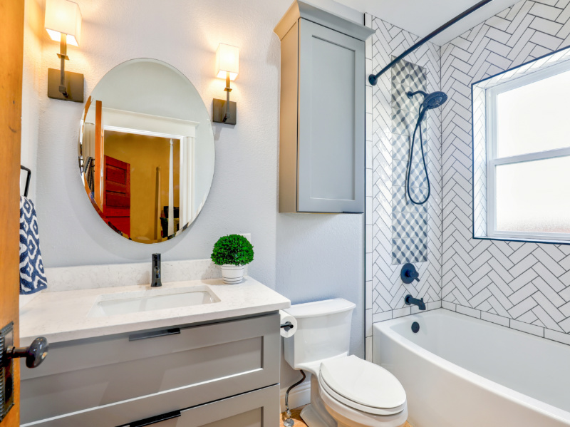What's The Proper Height for Bathroom Mirrors, Sinks and Showers?