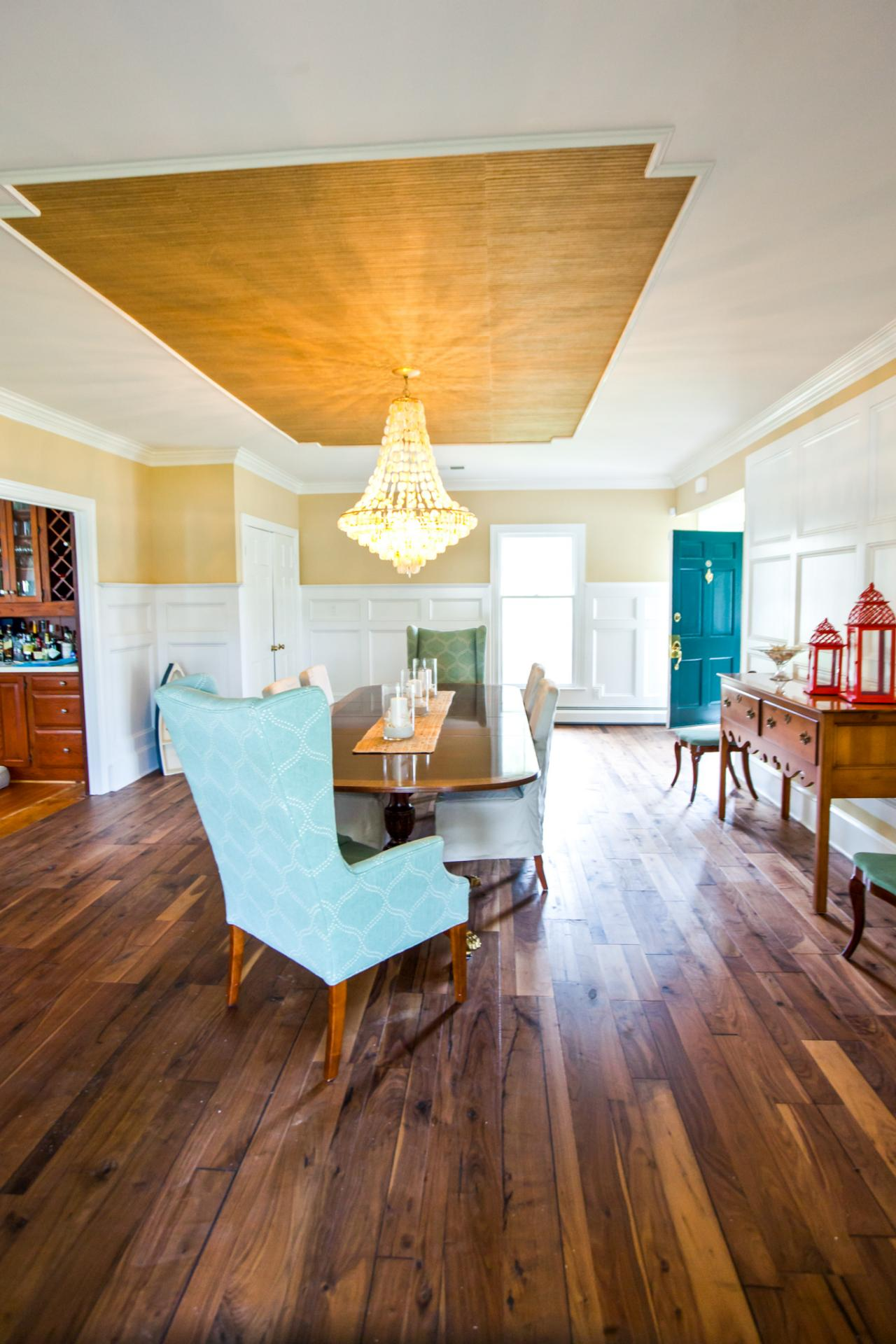 The floors are one of the first things a potential buyer sees. Source: HGTV
