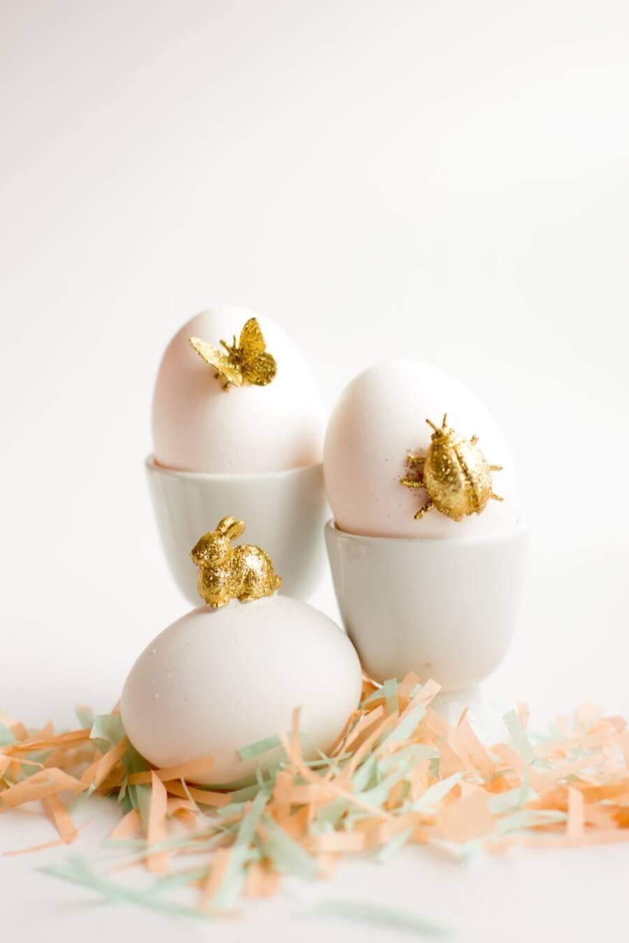 Gold Animal Eggs