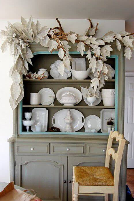 Decorating above cabinets has never been easier
