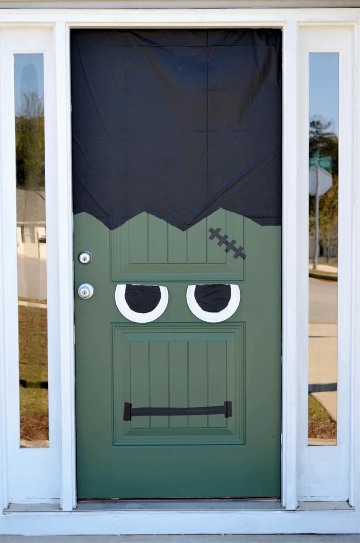 The door already had the bolts