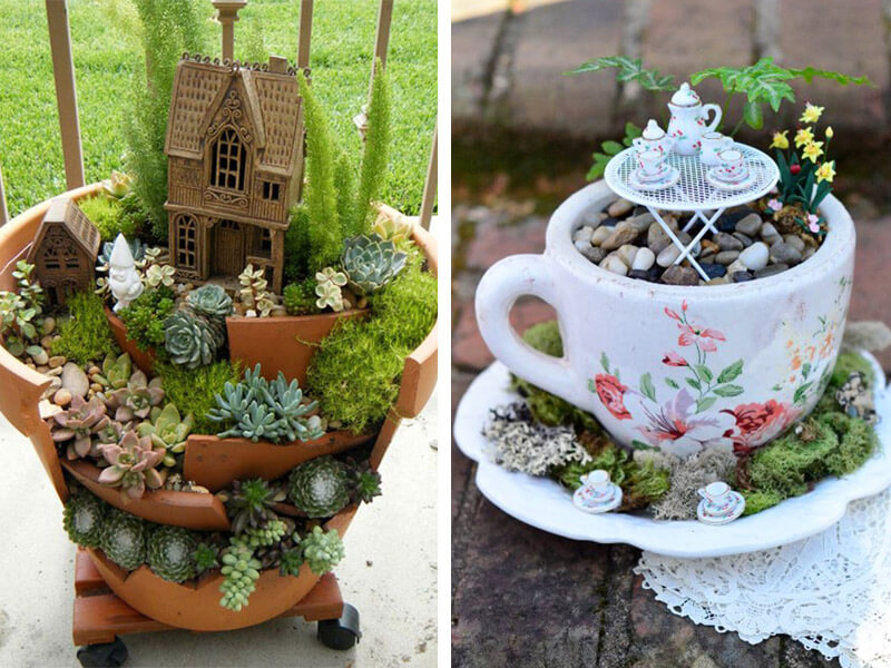 5 Charming DIY Fairy Garden Ideas