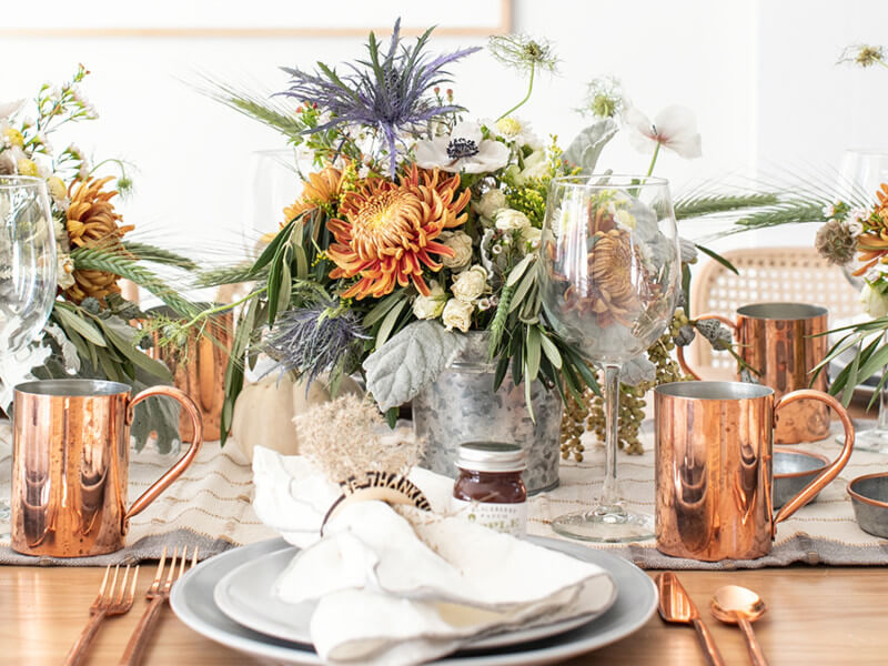 7 DIY Thanksgiving Centerpieces for Your Dinner Table