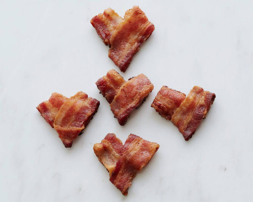 If your partner loves bacon, this is the perfect way to start their day!