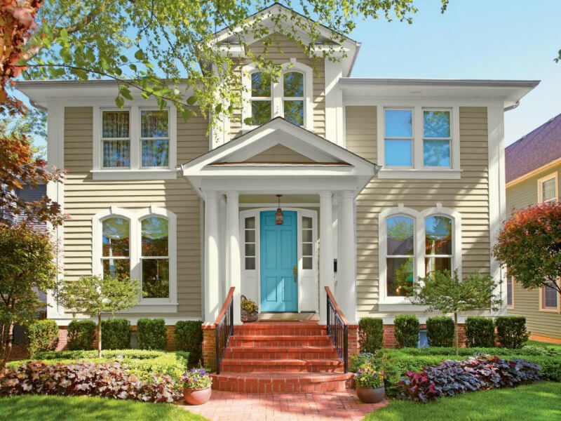 5 Inviting Home Exterior Color Palettes