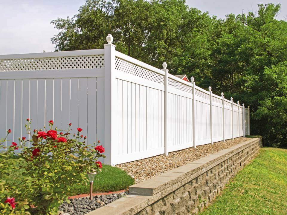 Vinyl fencing is the newest version