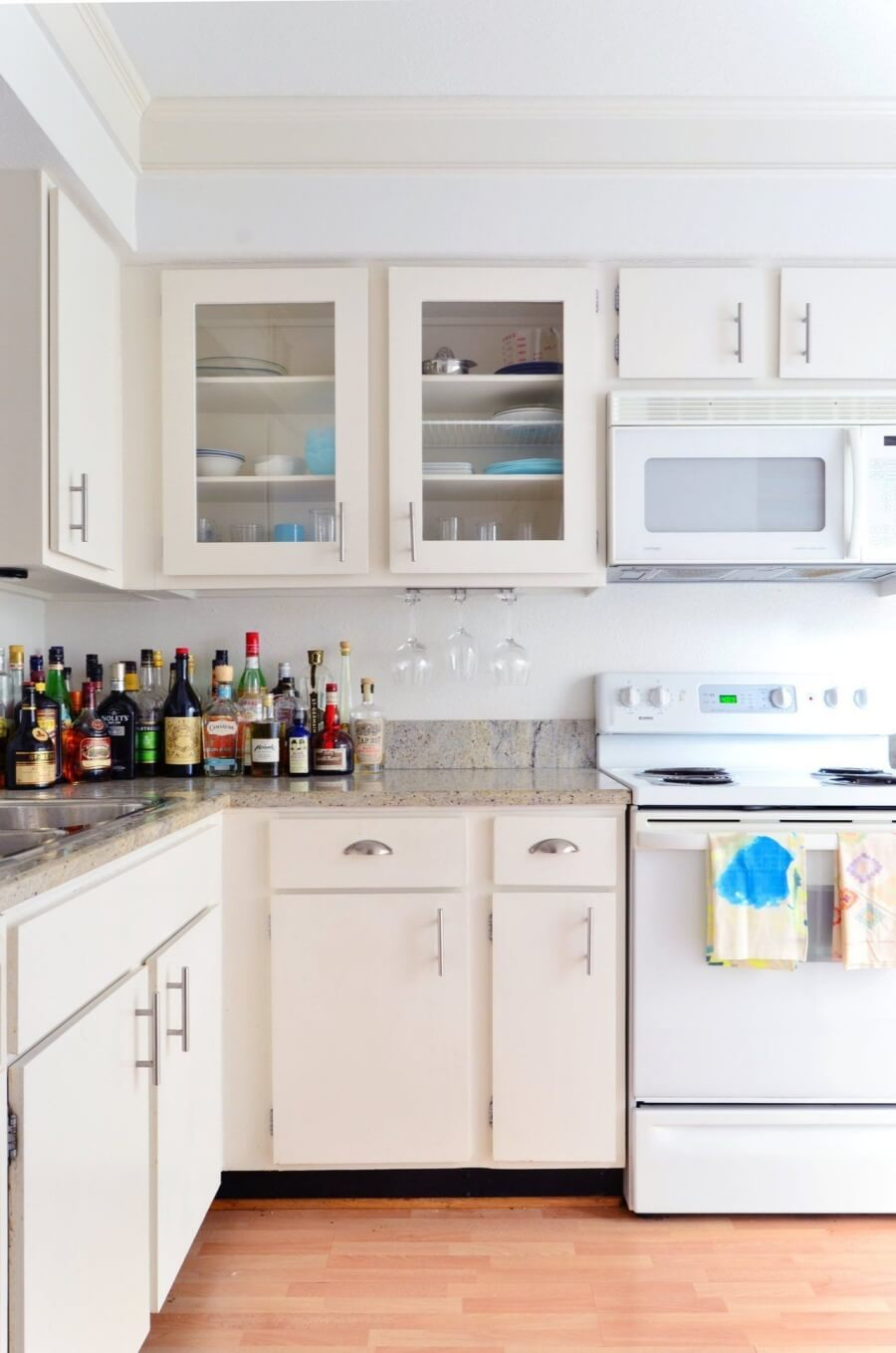 Clean Cabinet Boxes and Doors