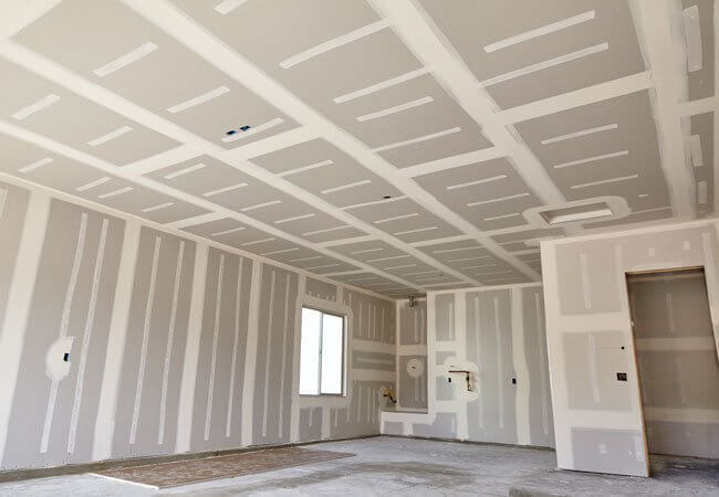 Here's how to take care of drywall problems
